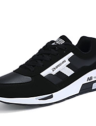 Masculino-Tênis-Arrendondado-Rasteiro-Azul / Preto e Vermelho / Preto e Branco-Camurça-Para Esporte
