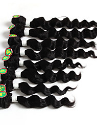 8-12inch 8 pieces /lot Brazilian Loose Wave Virgin Hair Brazilian Virgin Hair Loose Wave Hair Weave Bundles