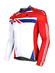 Sport Fahrradjacke Unisex Langärmelige FahhradAtmungsaktiv / Rasche Trocknung / Windundurchlässig / Anatomisches Design / UV-resistant /