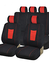 AUTOYOUTH New Fashion Velvet Full Car Seat Covers Universal Fit Most Car Covers Black Seat Cover Car Seat Protector