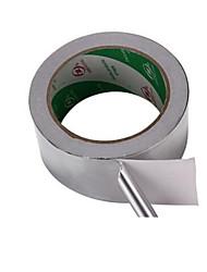 alta temperatura de alumínio resistência folha impermeável especificação fita de 25 m * 48 milímetros