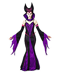 Costumes Movie & TV Theme Costumes Halloween Purple Patchwork Terylene Dress / More Accessories