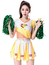 Costumes Movie & TV Theme Costumes / More Costumes Halloween Yellow Patchwork Terylene Dress / More Accessories