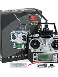 FLYSKY RC FS-T6 2.4GHz 6CH Mode 2 Transmitter  Receiver R6-B Helicopter Plane