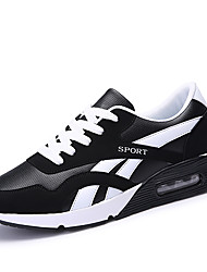 Men's Sneakers Spring / Fall Comfort Outdoor / Athletic / Casual Low Heel Green / White / Orange Tennis / Walking /