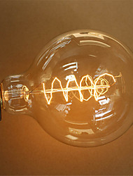 G125 40W E27 Vintage Edison Bulb Retro Lamp Incandescent Light Bulb (AC220-240V)