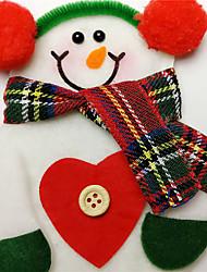 Полиэстер Свадебные украшения-1шт / комплект Рождество Деревенская тема Зима