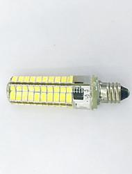 1 pcs e11 4w 80x5730smd 400 lm quente branco / frio branco t bi-pin luzes ac220-240v / 110-120v