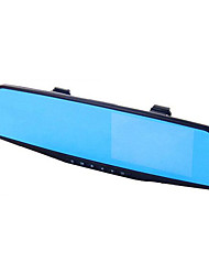 Blue Mirror Rear View Mirror Driving Recorder Double Lens High-Definition Night Vision Car Machine