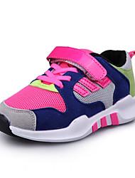Unisex Sneakers Spring / Fall Comfort PU Casual Flat Heel Hook & Loop Black / Blue / Red Sneaker