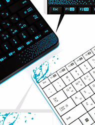 Logitech® MK240 Keyboard or Computer Desktop Notebook Mini USB Wireless Keyboard Mouse Suit