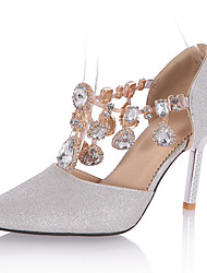 Women's Heels Spring / Summer / Peep Toe / Pointed Toe Customized Materials Wedding / Party & Evening / Dress