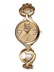 WEIQIN Brand Luxury Crystal Gold Watches Women Fashion Bracelet Watch Quartz Shock Waterproof   Unique Watches