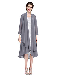 Women's Wrap Coats/Jackets Chiffon Wedding Party/Evening Wave-like