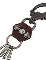 Key Chain Key Chain PU Leather Metal