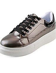 Flats Fall / Winter Flats PU Outdoor / Dress / Casual Flat Heel Others Black / Pink / White / Gray Others