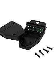 collegamento di macchina maschio quadrato testa 16p tipo di contatto a 16 pin connettore di saldatura 16pin OBD
