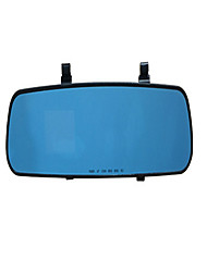 080P HD 2.4 Inch Rear View Mirror Driving Recorder Single Lens Auto Insurance Gifts
