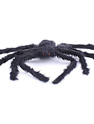 Halloween Props Spider Festival/Holiday Halloween Costumes Black Solid More Accessories Halloween Unisex Flannel