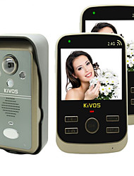 KiVOS KDB302A Wireless Electronic Sensor Domestic Door Bell With Photograph Conversation