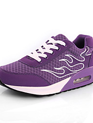 Homme-Sport-Noir Rose Violet-Talon Plat-Confort-Baskets-Tulle