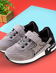 Boy's Sneakers Spring / Fall Comfort Leather Outdoor / Athletic / Casual Flat Heel Others Black / Purple / Gray Sneaker