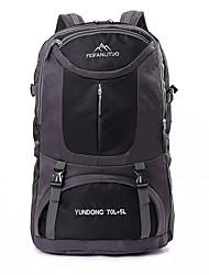 65 L рюкзак / Заплечный рюкзак Отдыхитуризм / Путешествия На открытом воздухе / ВыступлениеБыстросохнущий / Ударопрочность / Пригодно