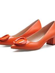 Women's Heels Spring / Summer / Fall / Winter Comfort / Pointed Toe / Closed Toe  Casual Chunky Heel Hook & Loop