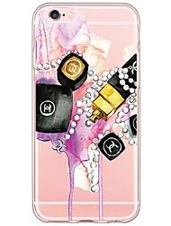 Назначение iPhone X iPhone 8 iPhone 6 iPhone 6 Plus Кейс для iPhone 5 Чехлы панели Ультратонкий Полупрозрачный Задняя крышка Кейс для