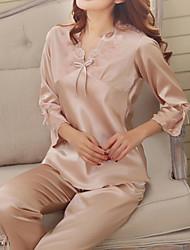 Herren / Damen Pyjama - Baumwolle