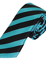 Men Polyester Silk Tie Leisure Jacquard Necktie