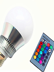 AC85-265V 8W RGB Remote Control Color LED Smart Bulb 1Pc