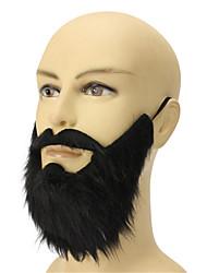 nouveau pour les hommes de sexe masculin halloween drôle costume de fête couvrir barbe noire