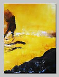 Handgemalte Abstrakt / Abstrakte Landschaft Ölgemälde,Modern / Europäischer Stil Ein Panel Leinwand Hang-Ölgemälde For Haus Dekoration
