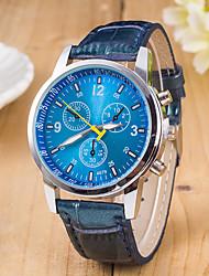 Муж. Спортивные часы Нарядные часы Модные часы Наручные часы Кварцевый швейцарцы Оригинальный рисунок сплав Группа С подвесками