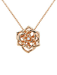 Necklace Pendant Necklaces Jewelry Party / Daily Fashion Zircon / Gold Plated Gold / Silver 1pc Gift