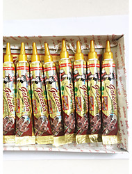 12pcs Red Henna Herbal Mehandi Tube For Beautiful Body Art 25g