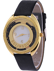 Women's Quartz Casual Fashion Watch Flow Bead Round Alloy Dial Watch Cool Watch Unique Watch