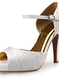 Women's Sandals Platform / Sandals / Styles Lace / Fabric Wedding / Party & Evening / Dress Stiletto Heel