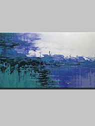 Large Size Hand-Painted Modern Abstract Oil Painting On Canvas For Home Decoration With Stretched Frame Ready To Hang