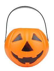 Artigos de Halloween Abóbora Festival/Celebração Trajes da Noite das Bruxas Laranja Estampado Mais Acessórios Dia Das Bruxas Unisexo