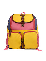 Unisex Canvas Formal / Casual / Professioanl Use School Bag
