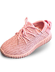 Boy and Girl's Athletic Shoes Spring / Summer / Fall / Winter Flats Tulle Casual Flat Heel Lace-up