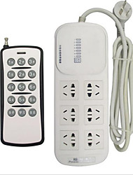 6-Position Remote Control Socket / Remote Control Power Socket / Smart Plug / Remote Control PC-1106A