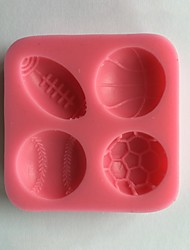 Sports Ball Silicone Mold  SM-442