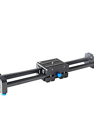 YELANGU Pro DSLR Camera Track Dolly Slider Video Stabilizer with 1/4 and 3/8 Thread Screw for all Types of Cameras DV