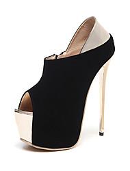 Damen-Stiefel-Kleid / Party & Festivität-Kunstleder-Stöckelabsatz-Absätze / Plateau / Komfort / Neuheit / Stifelette / Gladiator / Pumps