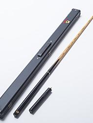 omin snooker sugestão profissional 3/4 black ebony eixo traseiro cinzas handmade sugestão do bilhar esmeralda