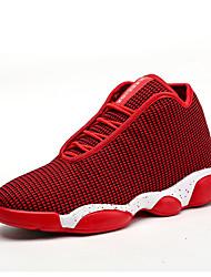 Unisexe Chaussures d'Athlétisme Confort Matières Personnalisées Printemps Automne Athlétique Décontracté Marche Confort Talon PlatNoir