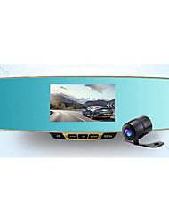 Ling Tongquan Chi F23 Rear View Mirror Driving RecorderThe Twin Lens Night Vision HD New Type Of Integrated Machine